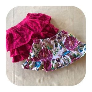 2 Children's Place skirts girls 2T